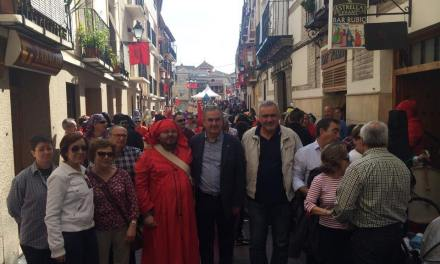 González Tovar se compromete a que la Fiesta del Tambor se declare de Interés Turístico Nacional