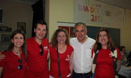 González Tovar arropa la candidatura de José Rafael Rocamora en la celebración de San Isidro en Cehegin