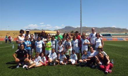Las benjaminas de los Molinos, campeonas regionales de fútbol 8