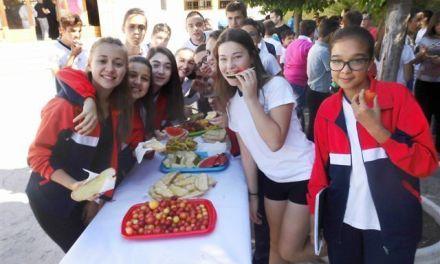 Día del Almuerzo Saludable en el colegio concertado de Cehegín