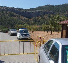 Un vigilante controlará el acceso al paraje del Salto Usero en Bullas en las horas de más afluencia de público de este verano