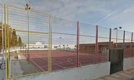 Iniciada la primera fase de las obras para cubrir la pista polideportiva del Ródenas de Bullas