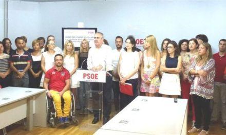 El PSOE de Murcia trabaja para garantizar el acceso a los libros de texto a todas las familias en los 26 Ayuntamientos que gobierna