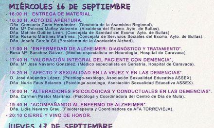Bullas celebra la II Semana del Alzheimer