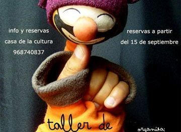 Abierto en Cehegín el plazo de inscripción para el Taller de Teatro que imparte Fernando Ripoll