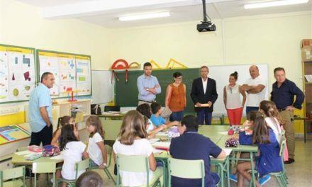 Los centros educativos de Caravaca cuentan este curso con más de 5.700 alumnos