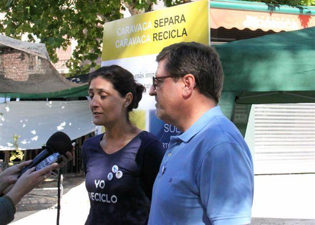 Una campaña fomenta en Caravaca el reciclado con acciones a pie de calle y charlas formativas en centros educativos