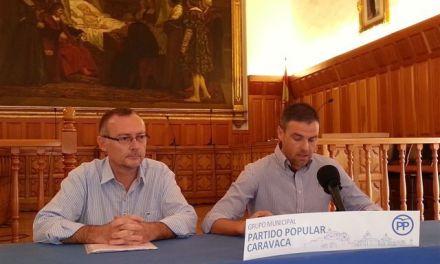 """José Francisco García valora el Pleno como """"constructivo y con muchas iniciativas interesantes para los ciudadanos de Caravaca"""""""