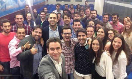 Salvador Madrid lidera el proyecto renovado de Nuevas Generaciones del Partido Popular en la Región de Murcia