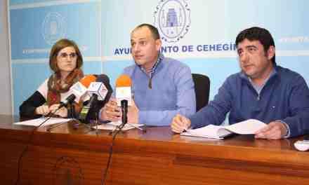 El Ayuntamiento de Cehegín presenta dos nuevos proyectos de Empleo Local para contratar a cuatro jóvenes del municipio