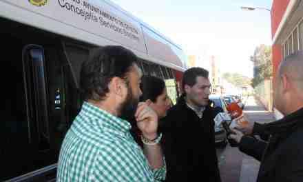 """La Concejalía de Servicios Sociales de Cehegín adquiere un vehículo para el transporte de los usuarios del Centro de Día """"Virgen de las Maravillas"""""""