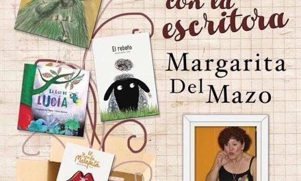 Cuentos con la escritora Margarita del Mazo el 26 de febrero en la librería de Cehegín Librillos