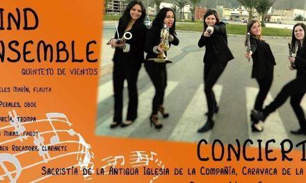 El quinteto de viento 'Mediterranean Wind Ensemble' ofrece un concierto este domingo en la Compañía de Jesús de Caravaca