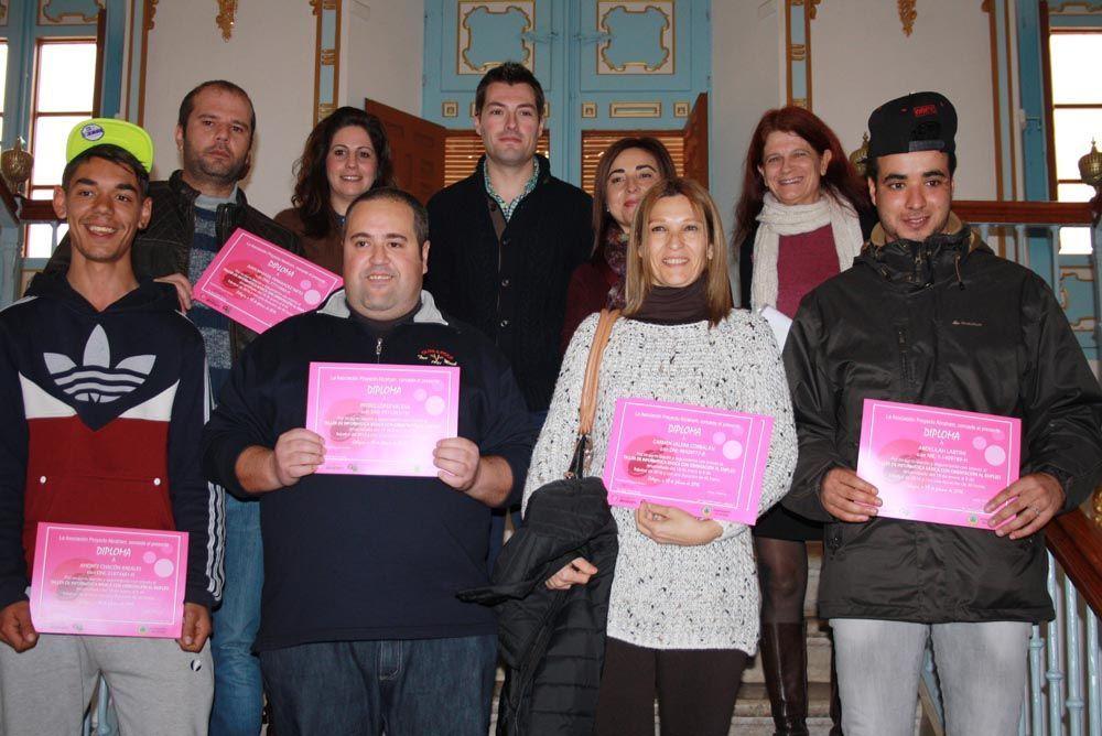 Entrega diplomas Cehegín