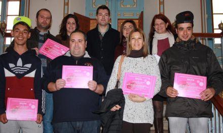 Entregados en Cehegín los diplomas del Curso de Informática Básica con Orientación para el empleo
