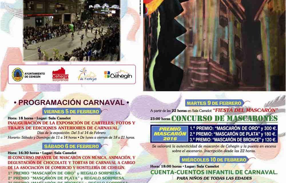 La Concejala de Festejos presenta una programación del Carnaval de Cehegín con muchas novedades