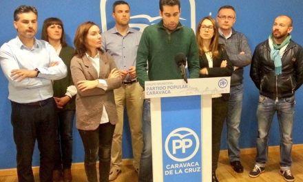 El PP de Caravaca muestra «su labor de oposición constructiva frente a la vieja y resentida política del PSOE»
