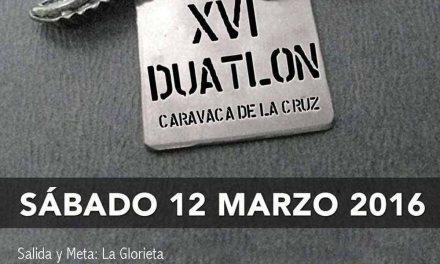 El XVI Duatlón Caravaca de la Cruz reúne el sábado 12 a 400 deportistas