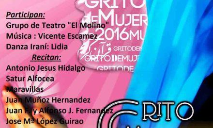 El encuentro 'Grito de mujer' cierra este viernes 18 en Cehegín los actos del Día de la Mujer