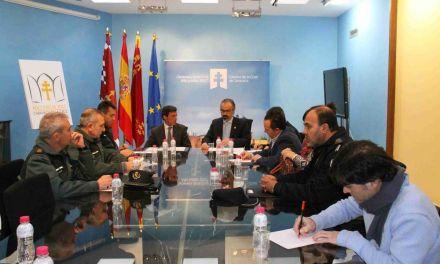 La Junta Local de Seguridad de Caravaca se reúne copresidida por el alcalde y el delegado del Gobierno