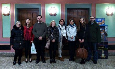 Empresas polacas de turismo visitan el Santuario de la Esperanza en Calasparra