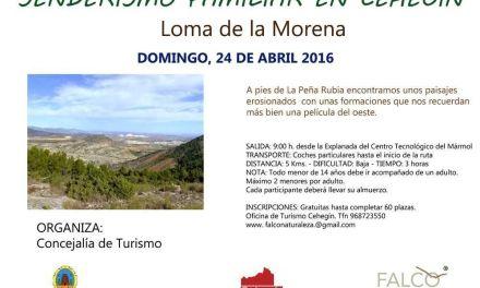 Las rutas por la naturaleza de Cehegín llegan este domingo a la Loma de la Morena