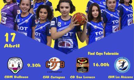 Fiesta del balonmano el domingo 17 de abril en Bullas