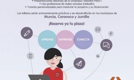 Caravaca participa en el programa 'Conectad@s' para favorecer el emprendimiento entre los jóvenes