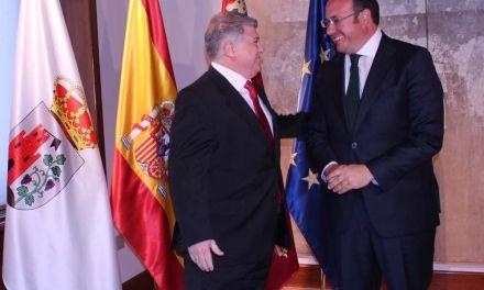 El Alcalde de Calasparra muestra su satisfacción por el reciente encuentro con el presidente de la Comunidad Autónoma
