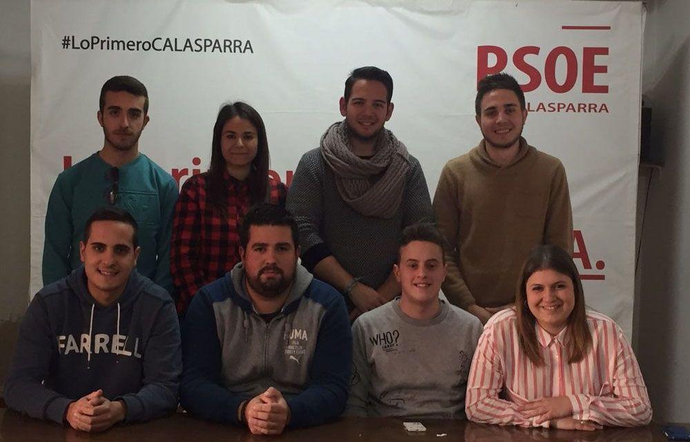 Juventudes Socialistas de Calasparra elige su nueva ejecutiva y secretario general