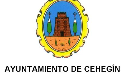 Publicadas las Bases de un Programa de Empleo Público Local para la contratación de 5 jóvenes desempleados de Cehegín