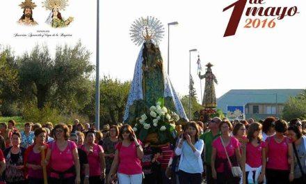 Romería el 1 de mayo en honor a Jesucristo Aparecido
