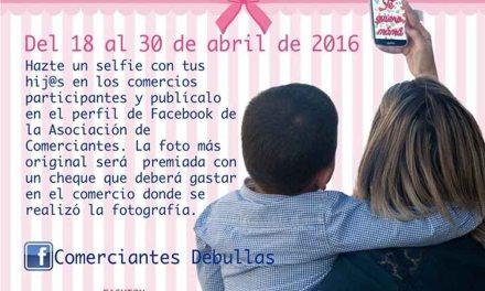 'Un selfie por mamá' nueva campaña de la Asociación de Comerciantes de Bullas para el Día de la Madre