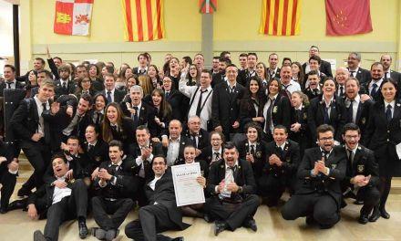 La Sociedad Musical de Cehegín triunfa en el X Certamen Internacional de la Sénia