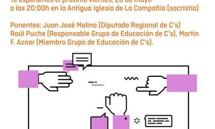 Mesa redonda de Ciudadanos Caravaca para abordar el problema del acoso escolar