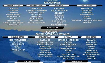 DREAMBEACH VILLARICOS anuncia su cierre de cartel con grandes nombres internacionales y nuevo recinto