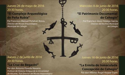 La conferencia de Alfonso Ángel Alcázar Espín, pone el broche final al Ciclo sobre Patrimonio Histórico en Cehegín