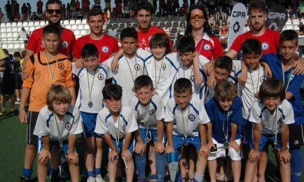 Los benjamines de la SCF Noroeste y Río Mula, segundos en el Torneo Consolación Levante Cup