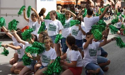 Escolares de Cehegín celebran con talleres y un 'flashmob' el Día Mundial del Medio Ambiente