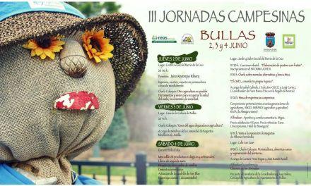 Del 2 al 4 de junio Bullas celebra las III Jornadas Campesinas