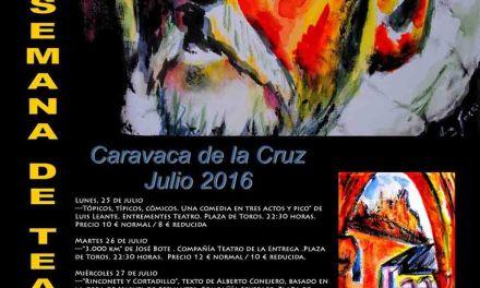 La XXXVI Semana de Teatro de Caravaca rinde homenaje a Cervantes en el IV Centenario de su muerte