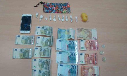 La Policía Local de Caravaca detiene a un individuo por un supuesto delito de tráfico de drogas