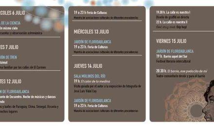 Un festival intercultural y una gran verbena entre las novedades de las Fiestas de El Carmen