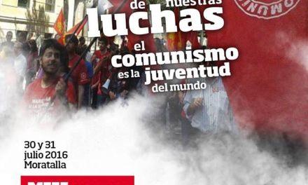 Las Juventudes Comunistas de la Región de Murcia celebrarán su V Conferencia Regional en Moratalla