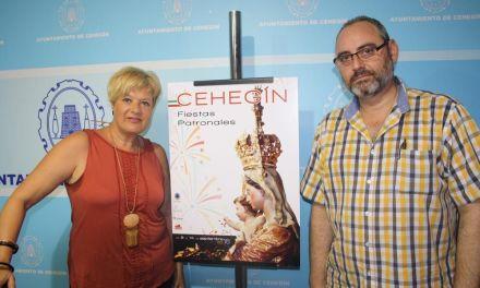 La Concejalía de Festejos presenta el cartel anunciador de las Fiestas Patronales, diseñado por Pedro Abellán y Fajardo