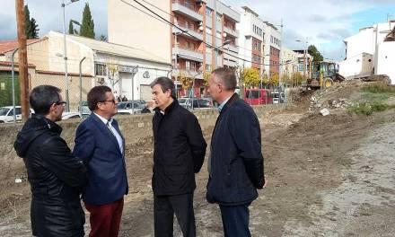 Iniciadas las obras de construcción del apeadero de autobuses turísticos