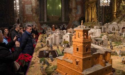 El Belén Municipal de Caravaca, expuesto en la iglesia de San José hasta el 6 de enero
