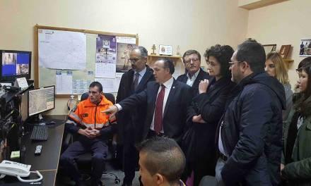 Caravaca mejora la coordinación de emergencias con la puesta en marcha de un centro remoto del 112