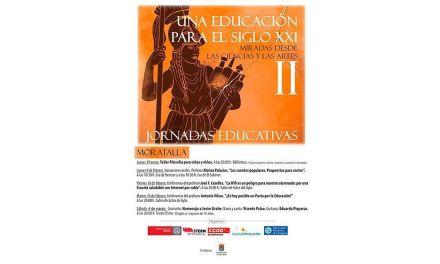 """Moratalla colabora en la organización de las II Jornadas Educativas """"Una educación para el siglo XXI. Miradas desde las ciencias y las artes"""""""