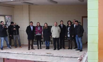 La Comunidad informa al Gobierno de España de los daños sufridos por Cehegín durante la ola de nieve y frío